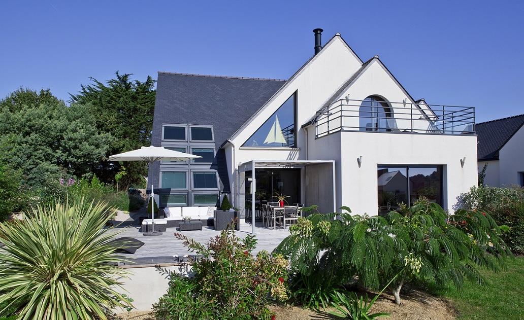 construction maison bord de mer