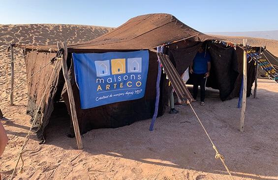 maisons arteco equipe voyage desert